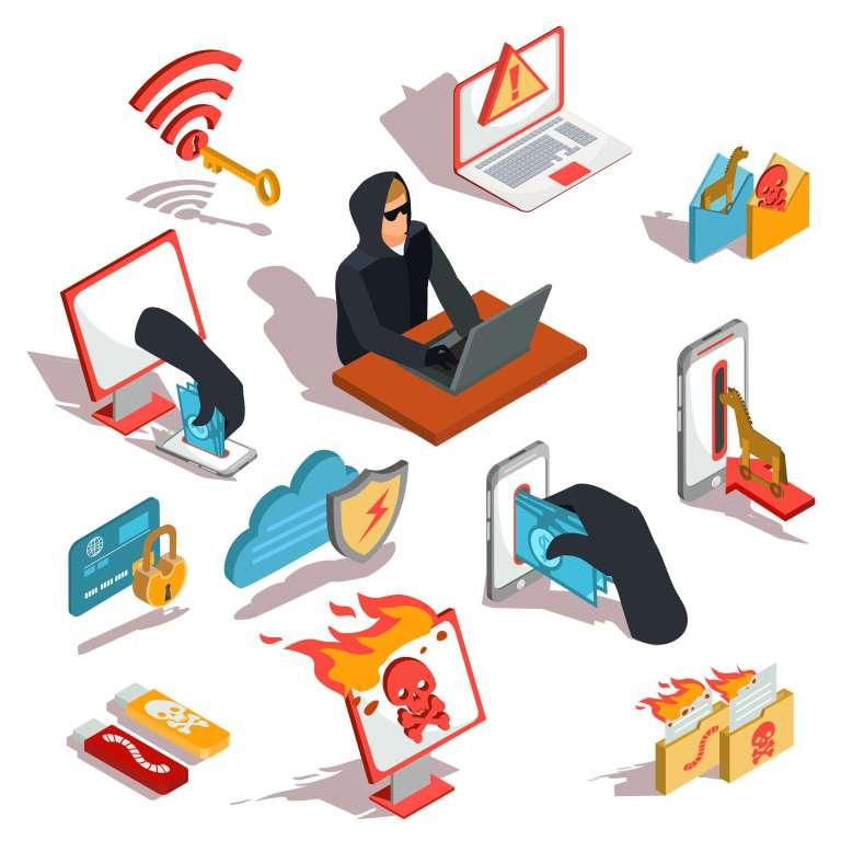 Les attaques DDoS sont lancées par des hackers